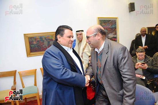 المؤتمر الصحفى لمهرجان المسرح العربى (29)