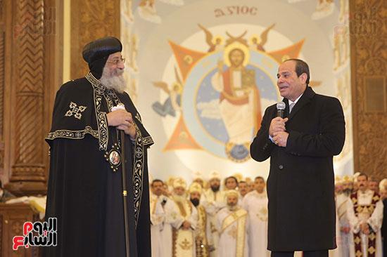 افتتاح كاتدرائية ميلاد المسيح (3)