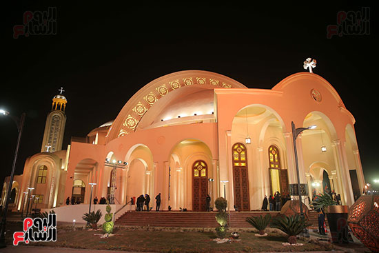 افتتاح كاتدرائية ميلاد المسيح (12)