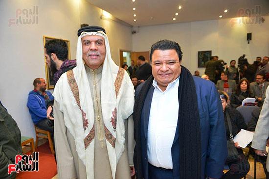المؤتمر الصحفى لمهرجان المسرح العربى (6)