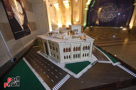 وزيرة الثقافة تتفقد مبنى دار الكتب والعرض المتحفى بصحبة قيادات الوزارة  (7)