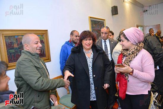 المؤتمر الصحفى لمهرجان المسرح العربى (24)