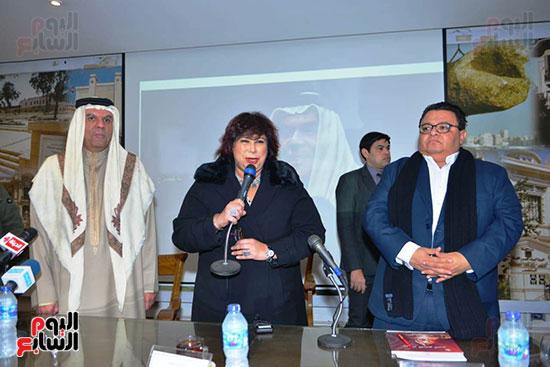 المؤتمر الصحفى لمهرجان المسرح العربى (5)