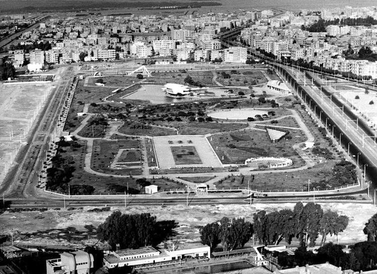 الحديقة فى فترة الستينيات