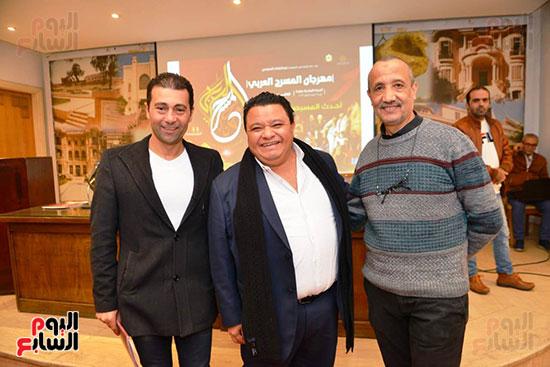 المؤتمر الصحفى لمهرجان المسرح العربى (2)