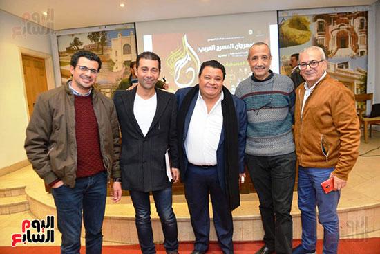 المؤتمر الصحفى لمهرجان المسرح العربى (14)