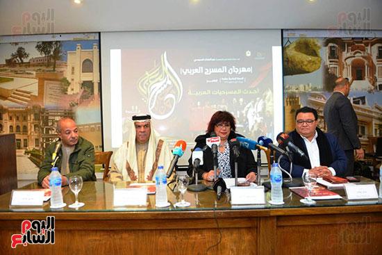 المؤتمر الصحفى لمهرجان المسرح العربى (19)