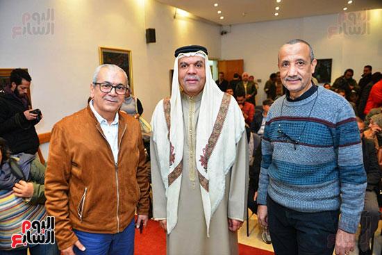 المؤتمر الصحفى لمهرجان المسرح العربى (3)