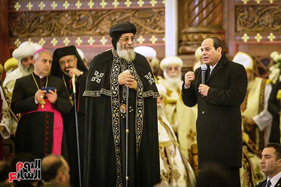 صور افتتاح كاتدرائية ميلاد المسيح (3)