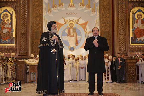 افتتاح كاتدرائية ميلاد المسيح (1)