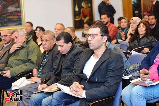المؤتمر الصحفى لمهرجان المسرح العربى (15)
