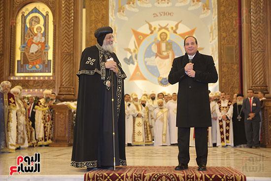 افتتاح كاتدرائية ميلاد المسيح (4)