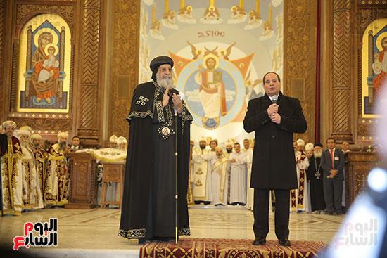 افتتاح كاتدرائية ميلاد المسيح (2)