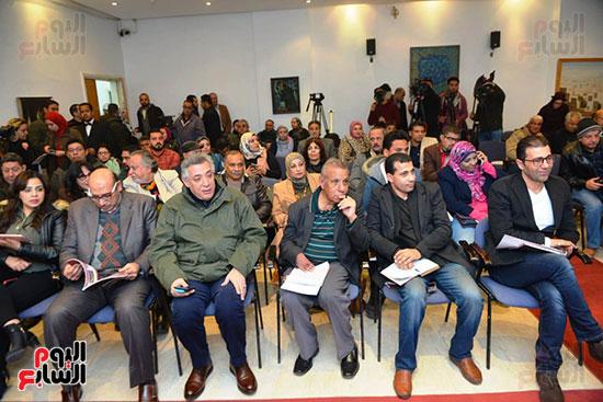 المؤتمر الصحفى لمهرجان المسرح العربى (10)