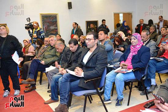 المؤتمر الصحفى لمهرجان المسرح العربى (23)