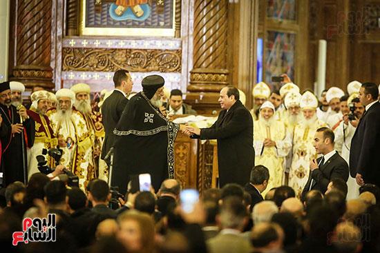 صور افتتاح كاتدرائية ميلاد المسيح (8)