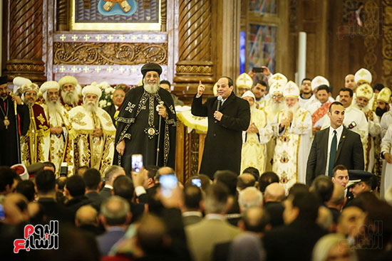 صور افتتاح كاتدرائية ميلاد المسيح (6)