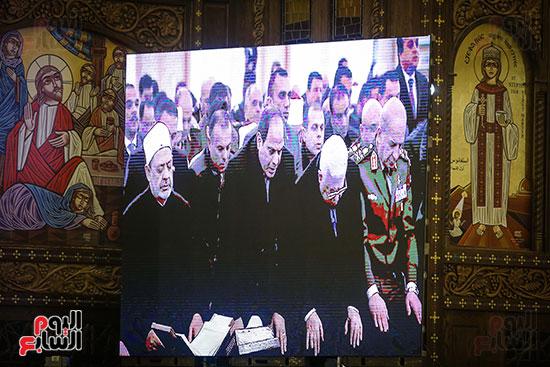 صور افتتاح كاتدرائية ميلاد المسيح (5)