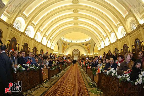 افتتاح كاتدرائية ميلاد المسيح (8)