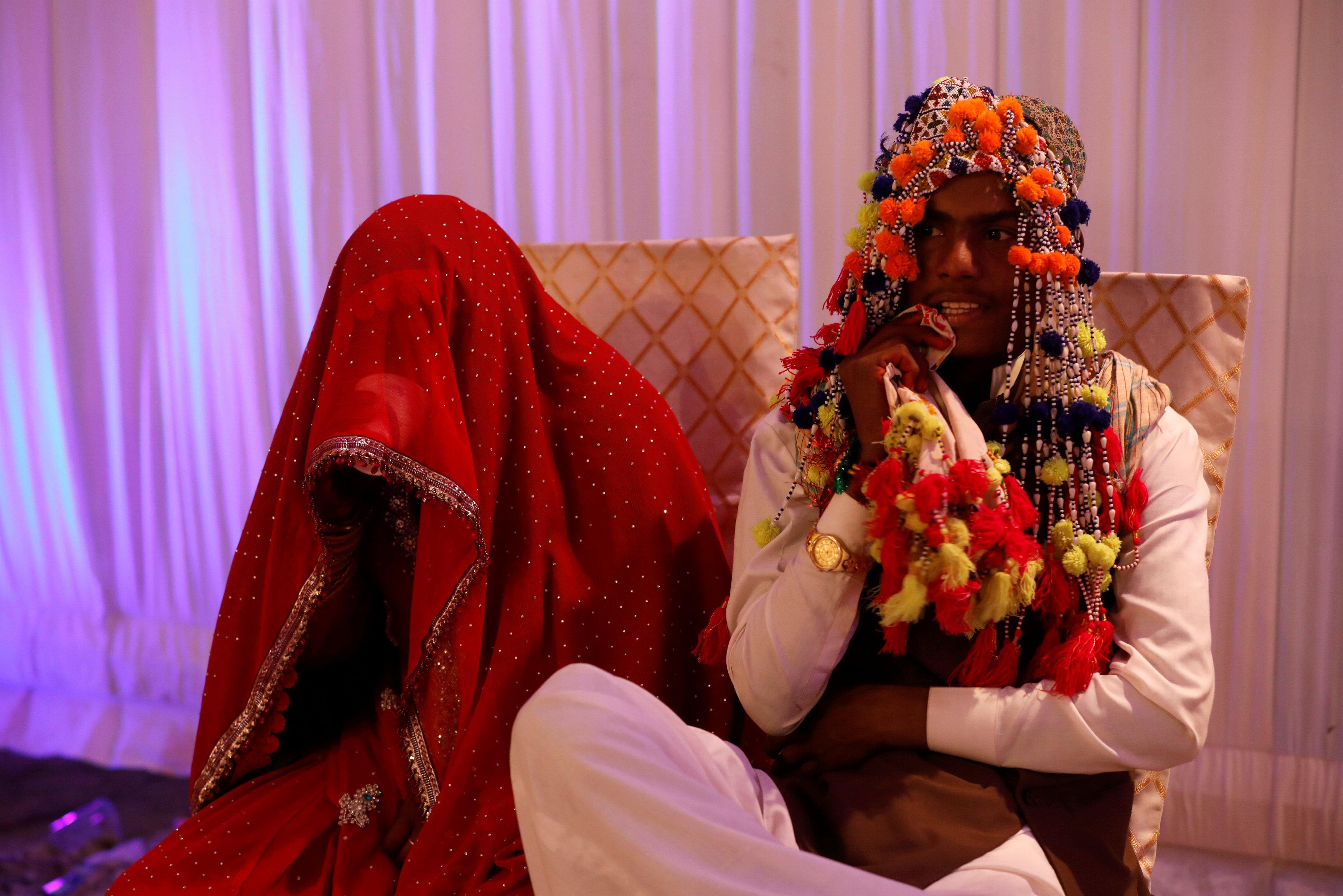 حفل زفاف جماعى للهندوس فى كراتشى (2)