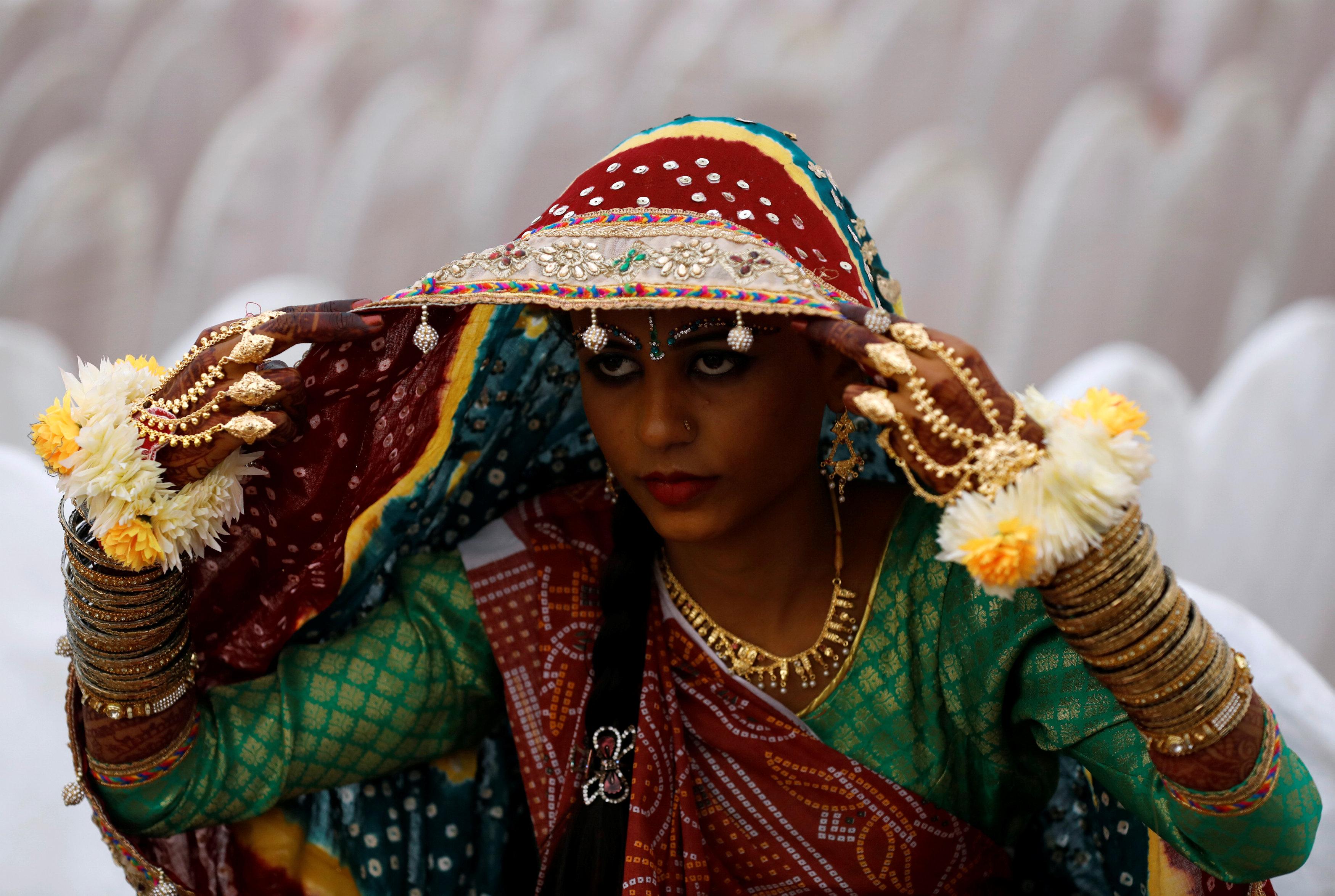 حفل زفاف جماعى للهندوس فى كراتشى (1)