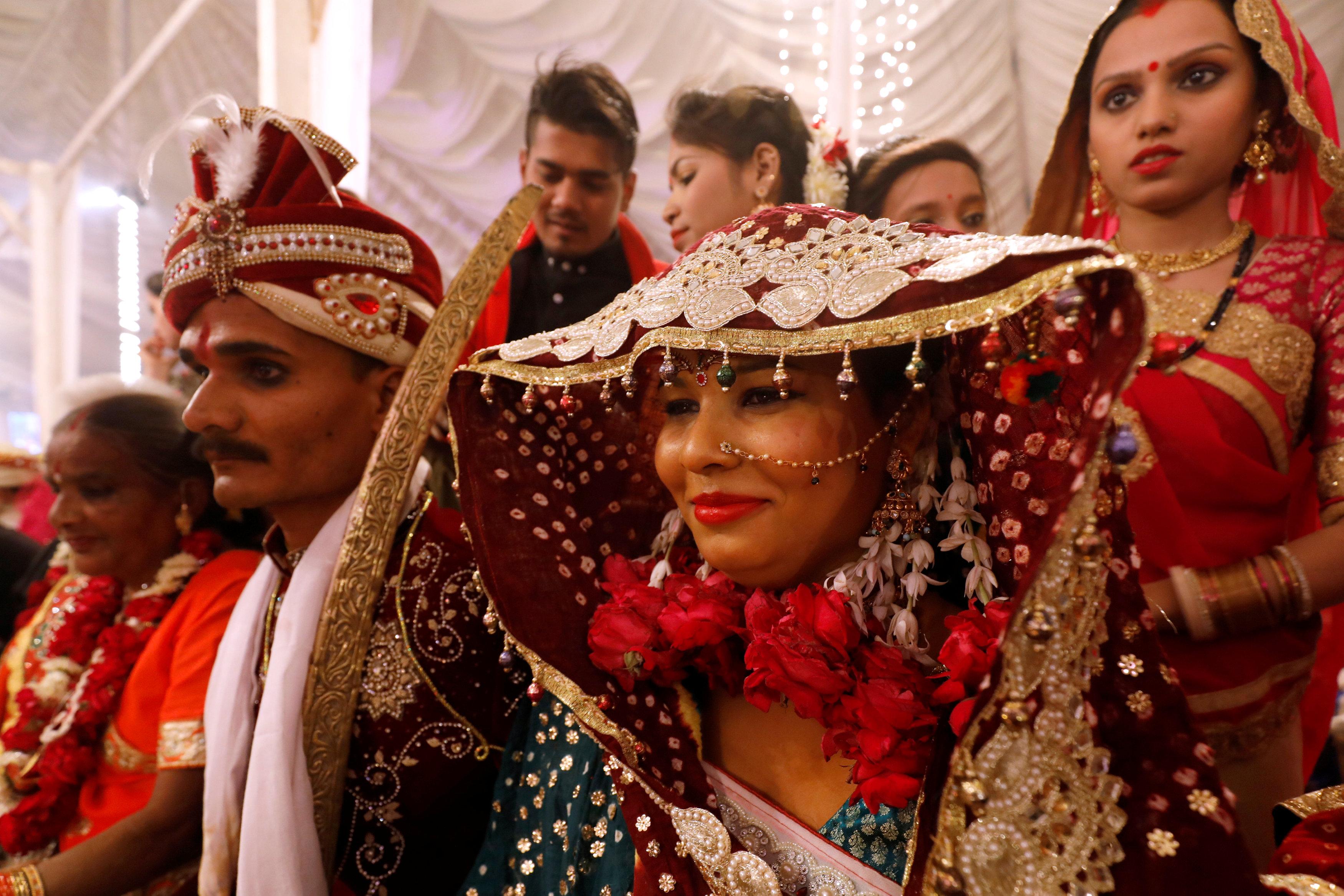 حفل زفاف جماعى للهندوس فى كراتشى (6)