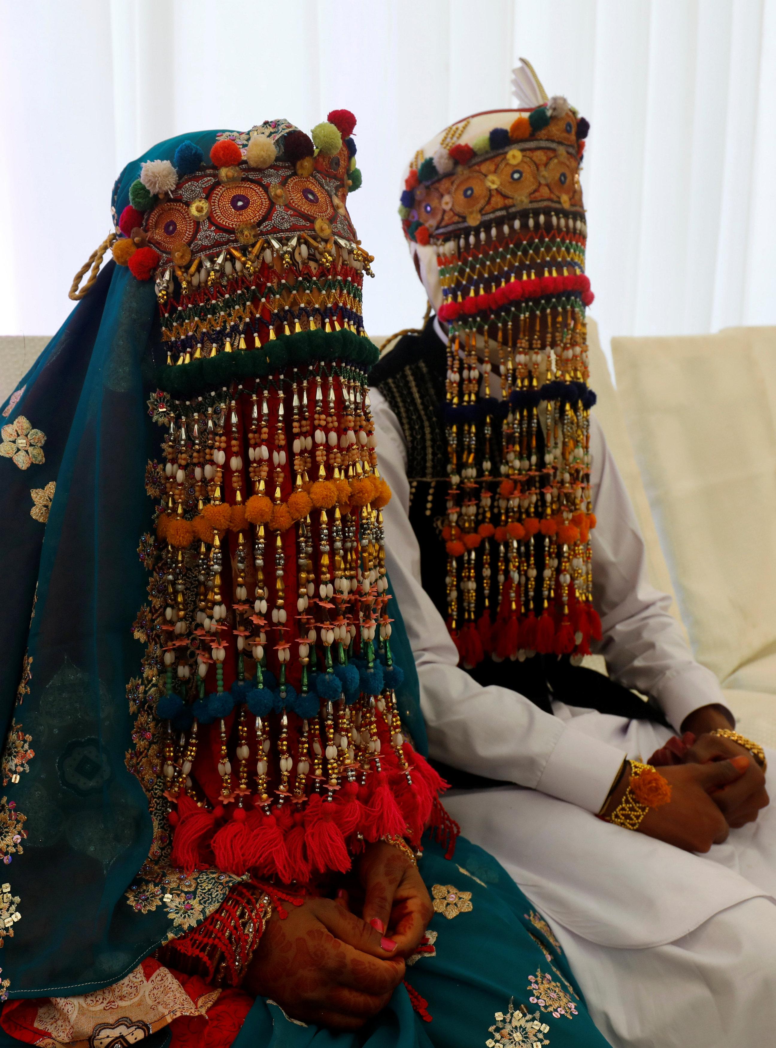 جانب من حفل الزفاف الجماعى (2)