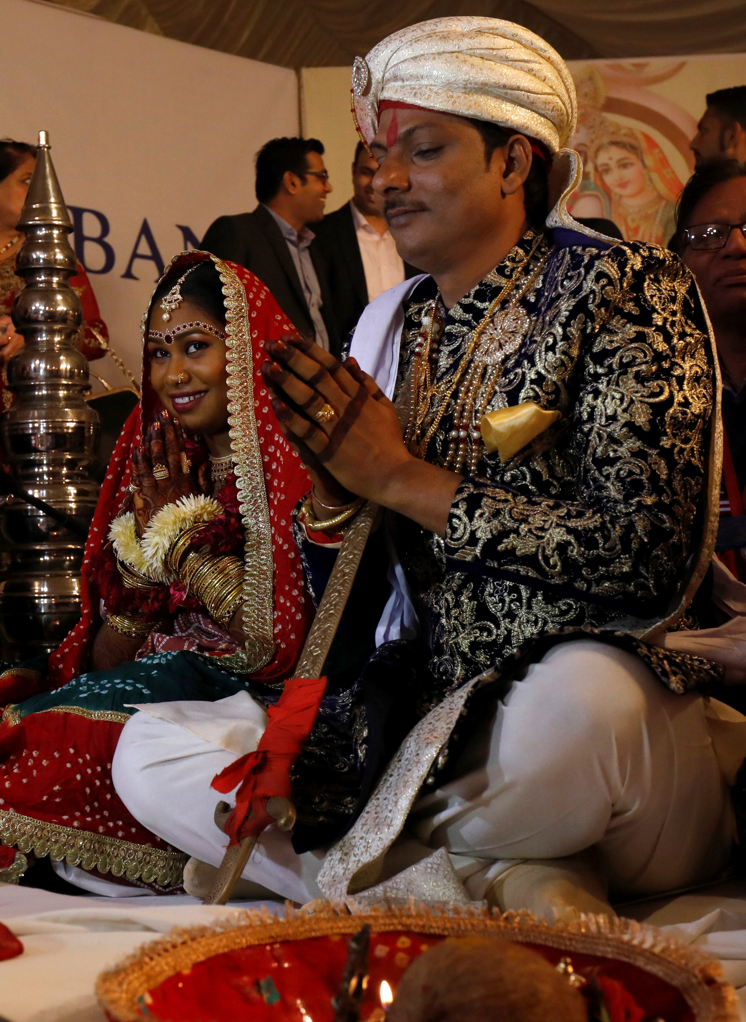 حفل زفاف جماعى للهندوس فى كراتشى (5)