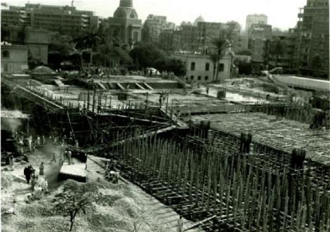 وضع أساسات الكاتدرائية