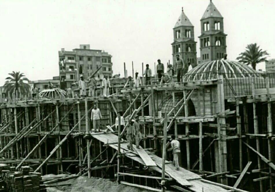 أثناء بناء الكاتدرائية