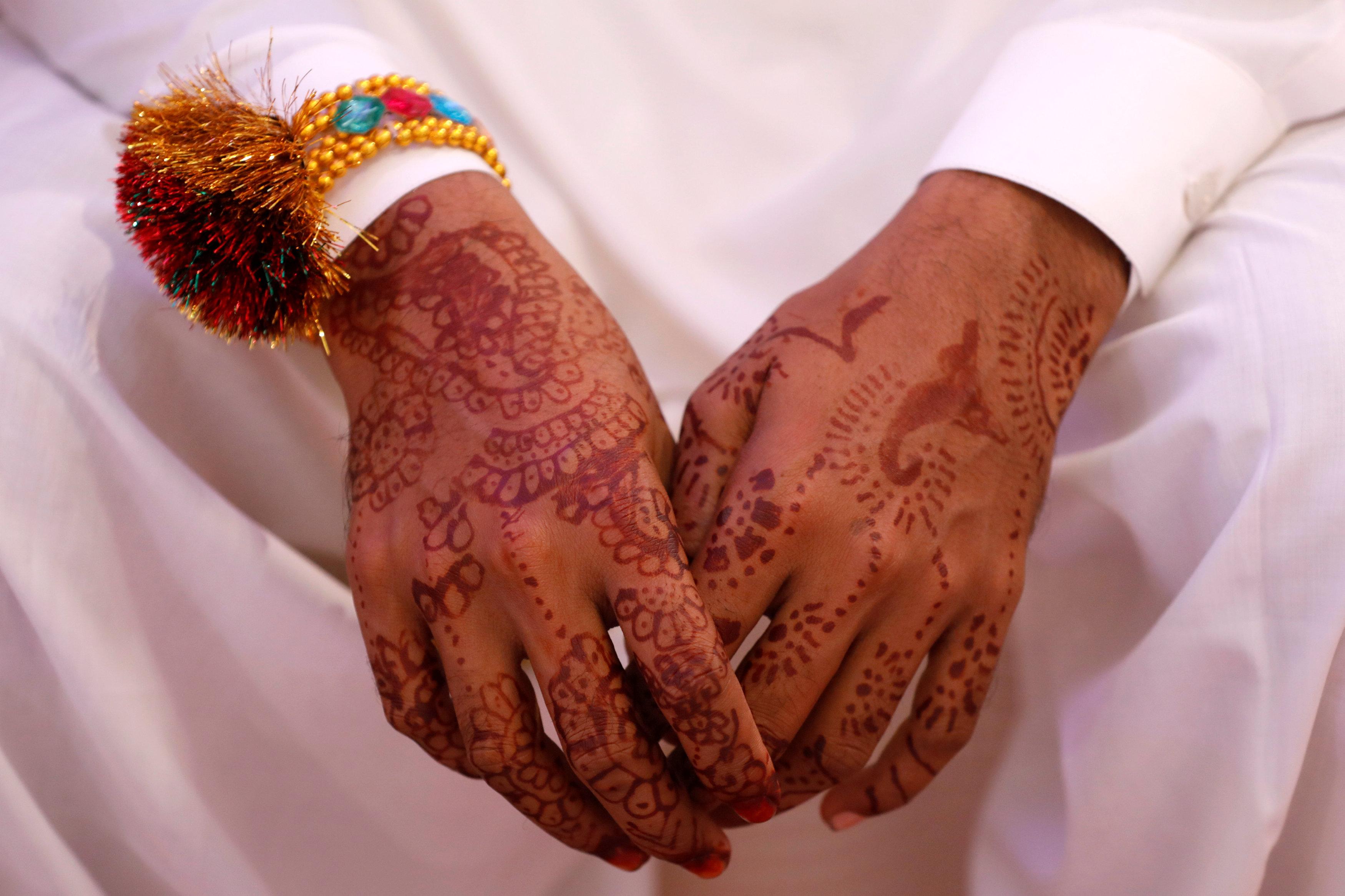 حفل زفاف جماعى للهندوس فى كراتشى (3)