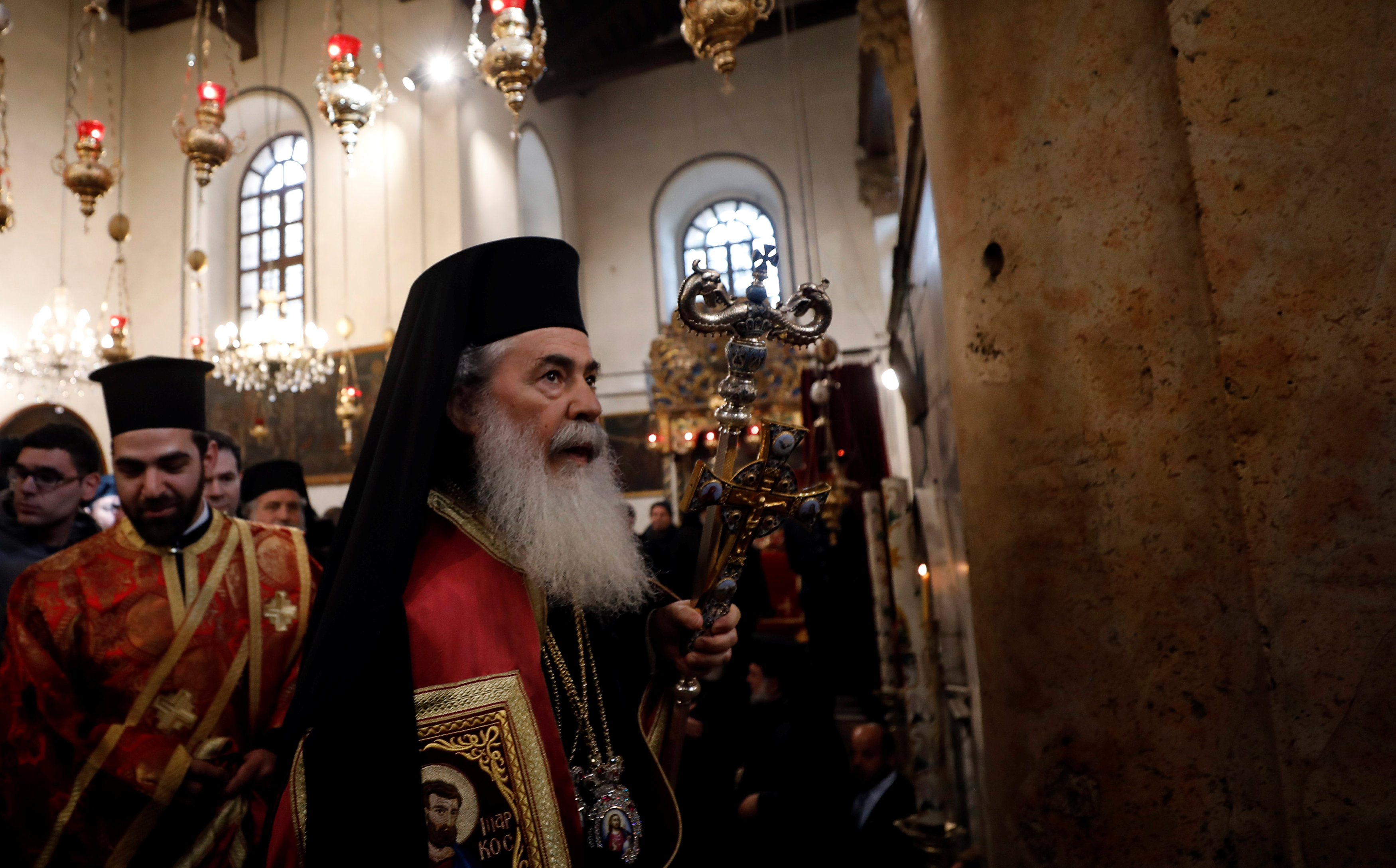 بطريرك الروم الأرثوذكس فى القدس