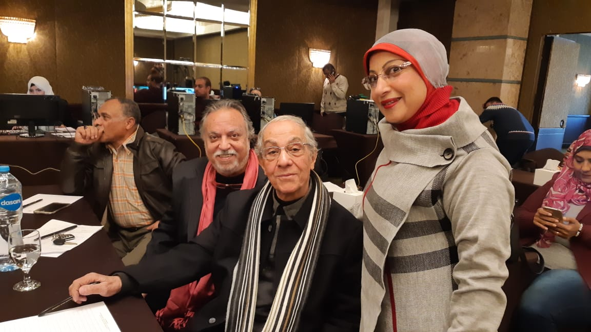 المكرمين مهرجان المسرح العربي (9)