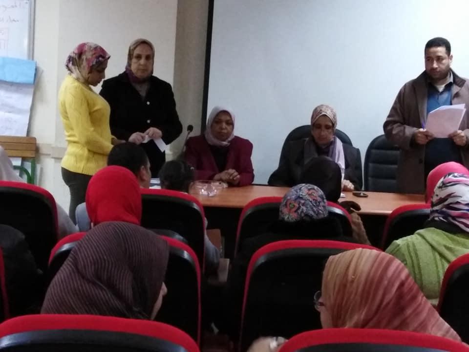 التضامن الاجتماعى  بالاسكندرية تجرى قرعة الاشراف على الحج (2)