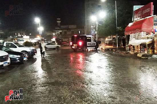 سقوط أمطار بكفر الشيخ (1)