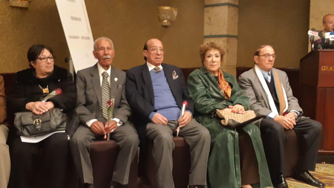المكرمين مهرجان المسرح العربي (1)