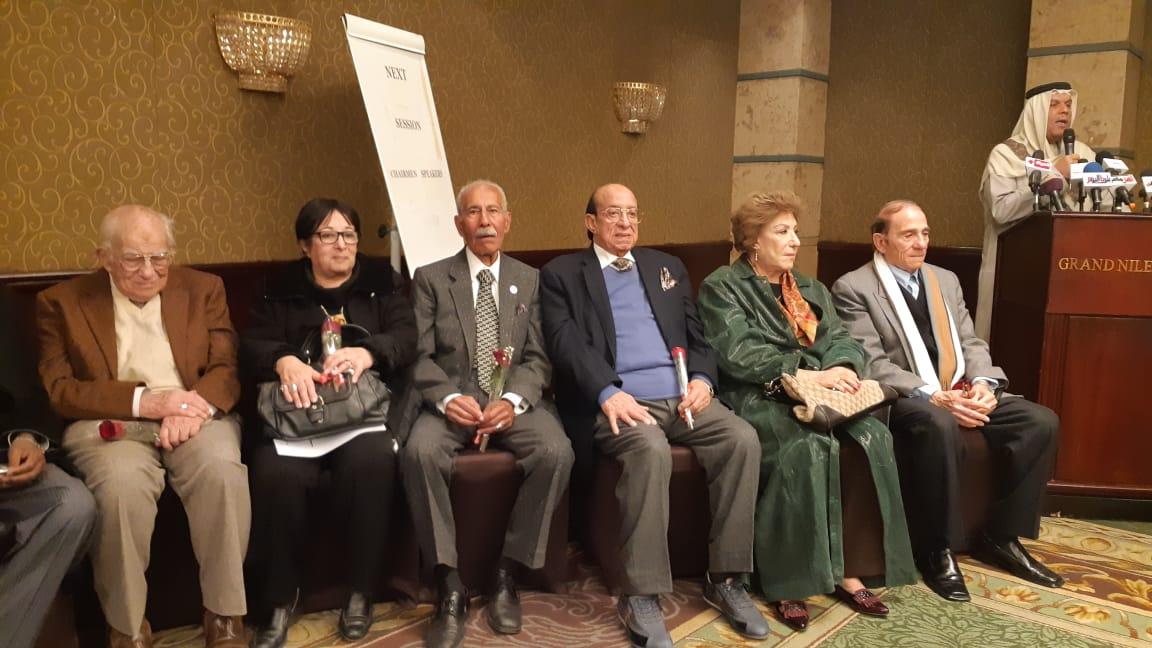 المكرمين مهرجان المسرح العربي (7)