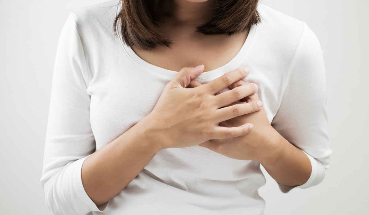تغيرات الثدى من اعراض الحمل المبكرة