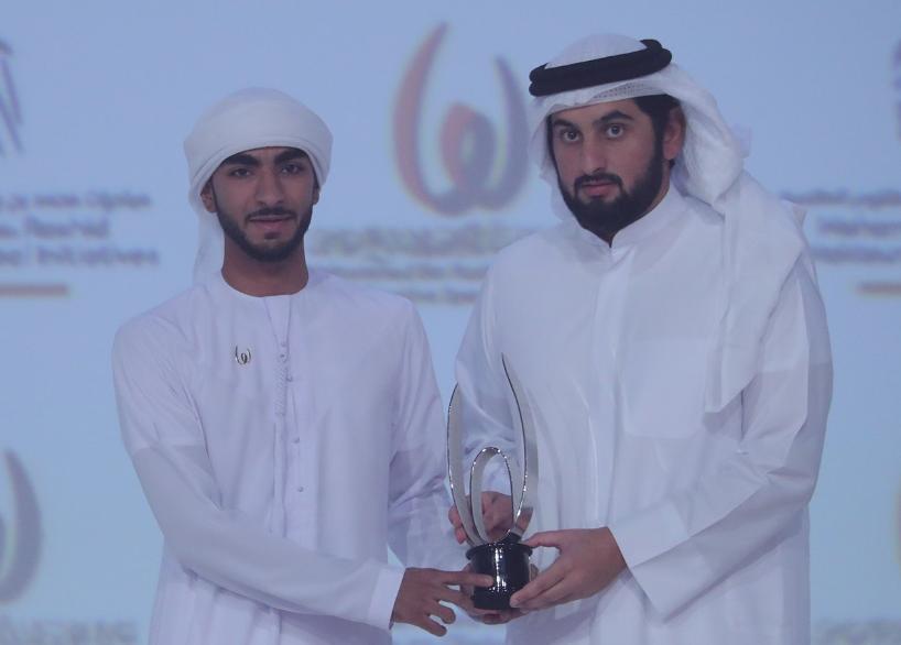 جائزة أفضل رياضى ناشئ عبد الله خليل المنصورى