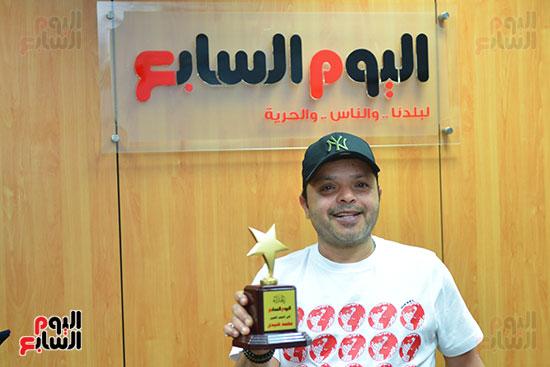 النجم محمد هنيدى فى ندوة فنية بـاليوم السابع (10)