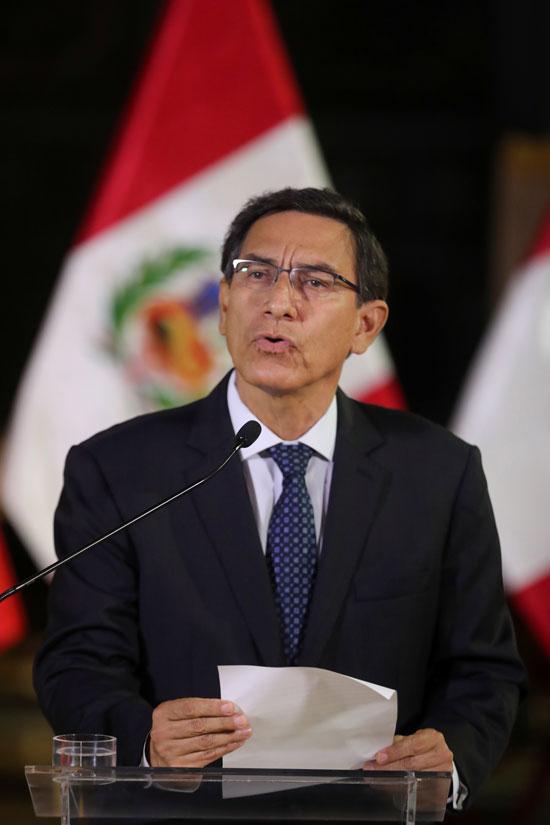 كلمة مارتن فيزكارا رئيس بيرو