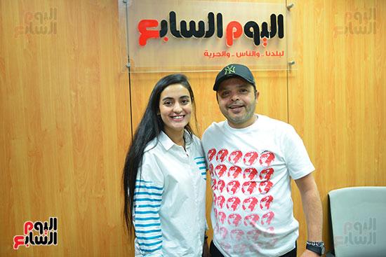 النجم محمد هنيدى فى ندوة فنية بـاليوم السابع (14)