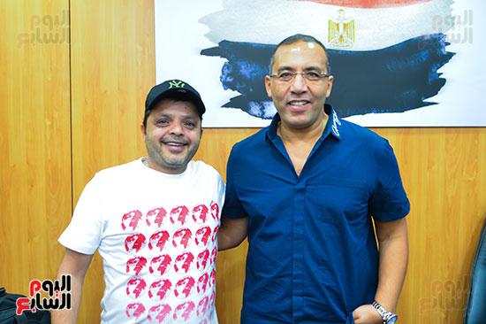 تكريم اليوم السابع للفنان محمد هنيدى (1)