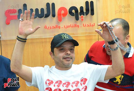 النجم محمد هنيدى فى ندوة فنية بـاليوم السابع (7)