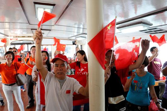 احتفالات شعبية فى ذكرى تأسيس الصين