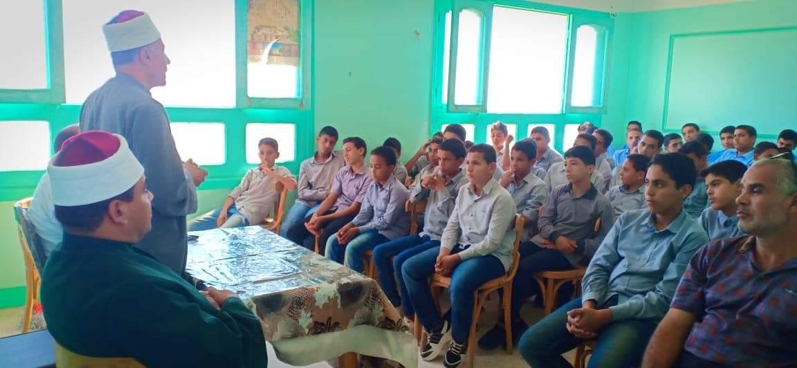 فرع منظمة خريجى الأزهر بجنوب سيناء يشارك بسلسلة ندوات لمحاربة الافكار الهدامة والمتطرفة  (3)