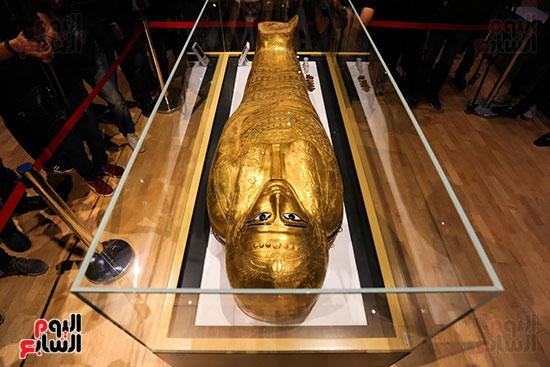 تابوت  نجم عنخ فى متحف الحضارة