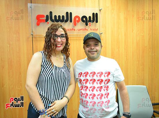 النجم محمد هنيدى فى ندوة فنية بـاليوم السابع (12)