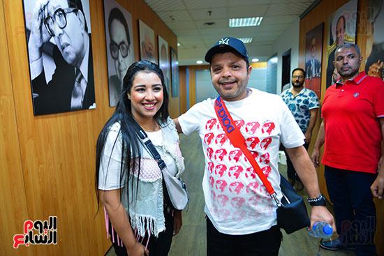 تكريم اليوم السابع للفنان محمد هنيدى (5)