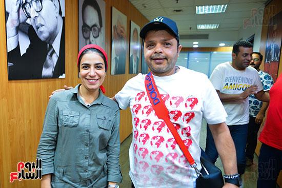تكريم اليوم السابع للفنان محمد هنيدى (4)